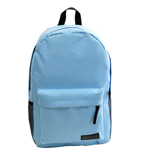 2015 Fashion Simple Women's Backpack Canvas