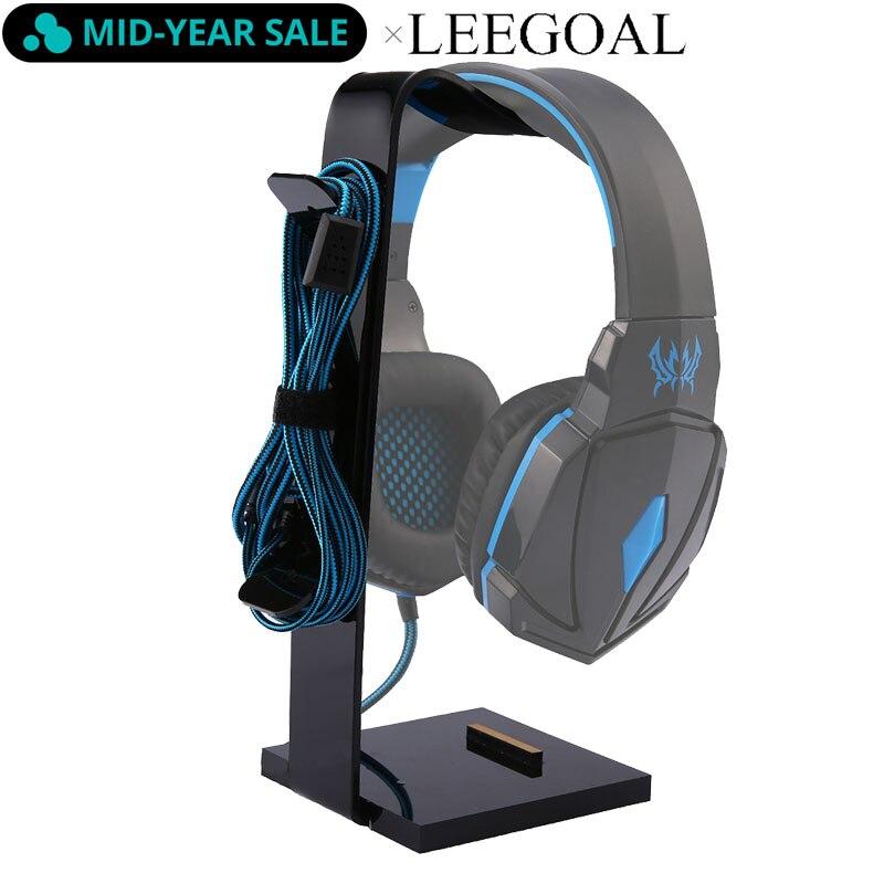 Universal Headphone Acrylic Headset Earphone Stand Holder Display For Headphones Bracket For Ipad Holder Black Rack Hanger