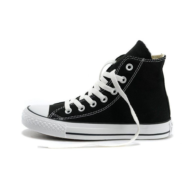 converse shoes high tops. aliexpress.com : buy original new arrival 2017 converse classic canvas skateboarding shoes unisex high top sneaksers from reliable tops