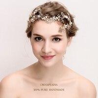 ORP Cô Dâu đồ trang sức Châu Âu tốt vương miện sang trọng wedding mũ tóc tinh tế ornaments bạc đá quý sang trọng phụ kiện đám cưới