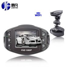 high quality Black Box WiFi Car Camera 96658 dashcam Mirror recorder car DVR Full HD1080p and night Vision Function Registrar