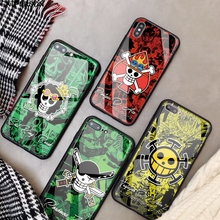 One Piece iPhone Glass Case (19 Models)