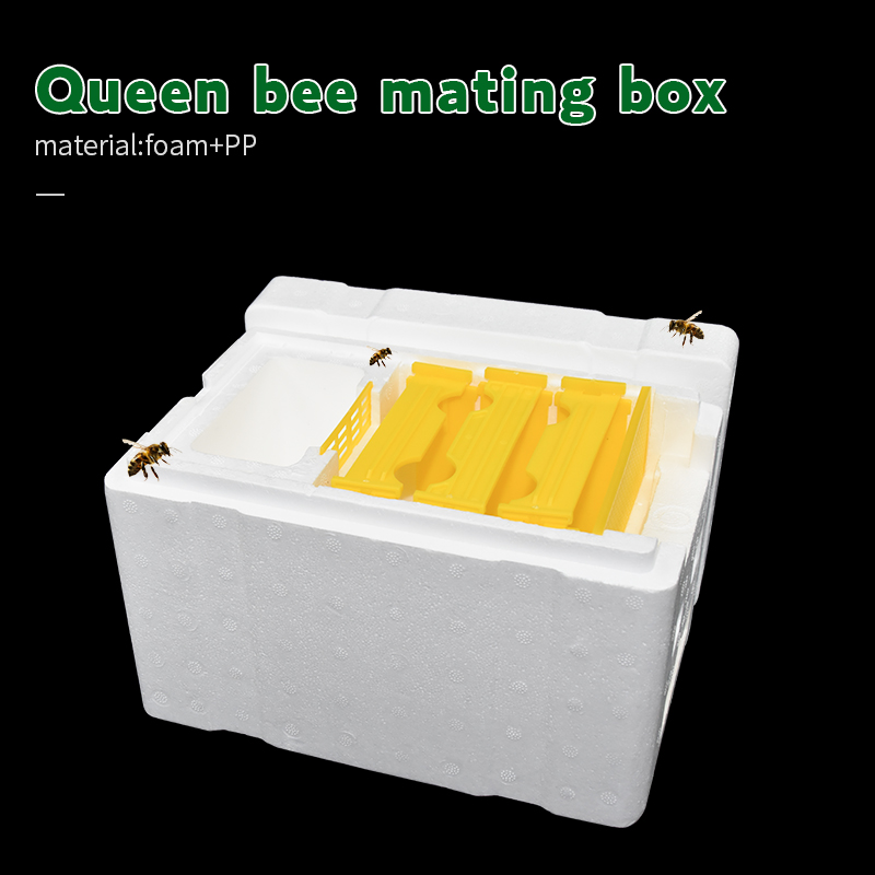 Beehive Hive Box Harvest Queen Pollination Beekeeping For Bee Mating Copulation Queen Reserve Beekeeping Tool
