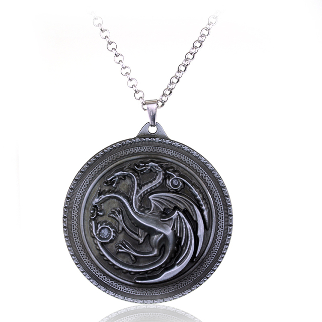 New Style Game of Thrones Silver Metal Pendant Jewelry