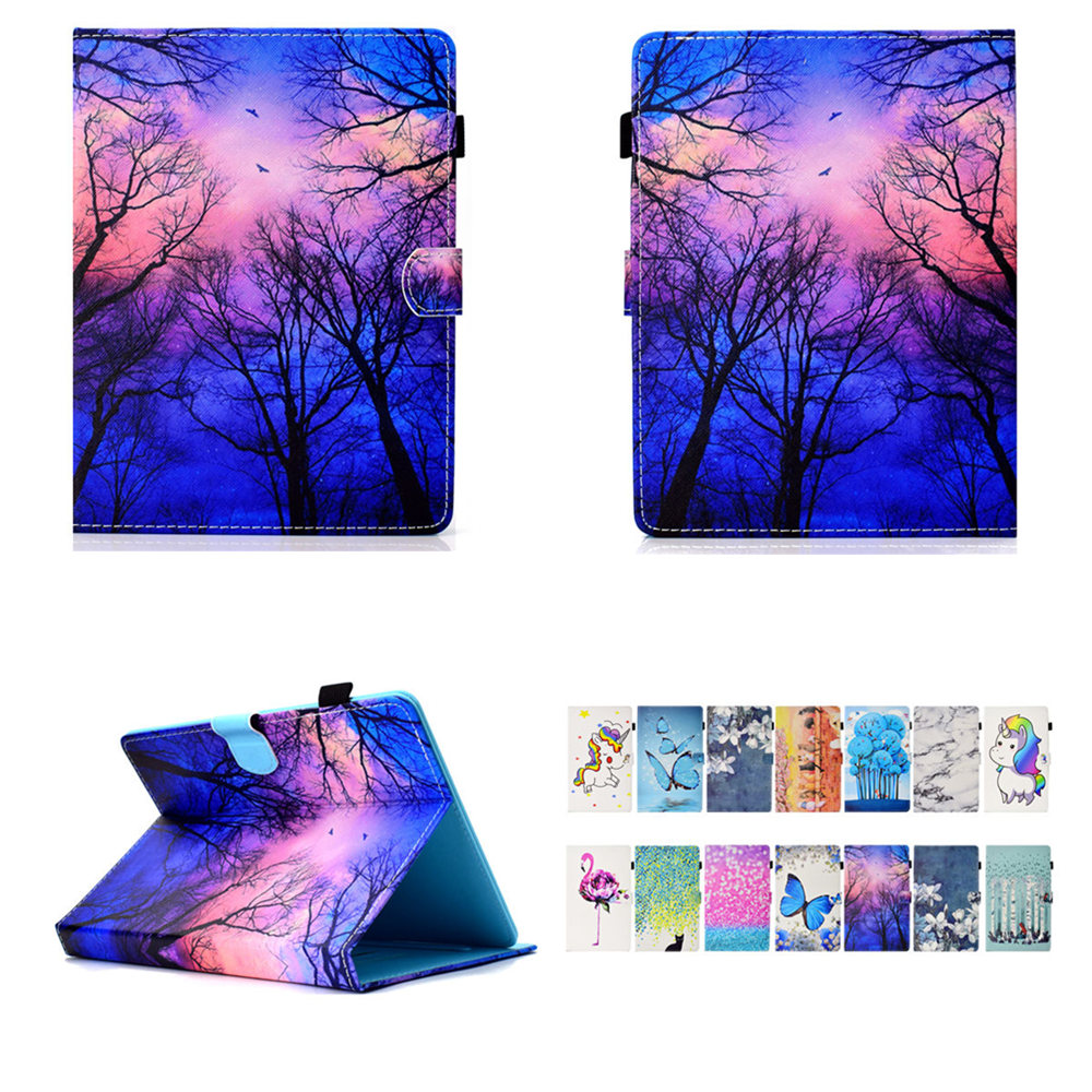 PU Leather Fashion Print Cartoon Cover For Huawei Mediapad T2 10.0 Pro FDR-A01L/A01W/A03L A04L 10.1 Inch Tablet Universal Case