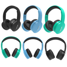 Headset Bluetooth V88 Big Earmuffs Cards Stereo Subwoofer Headphones Fashion Sports Music