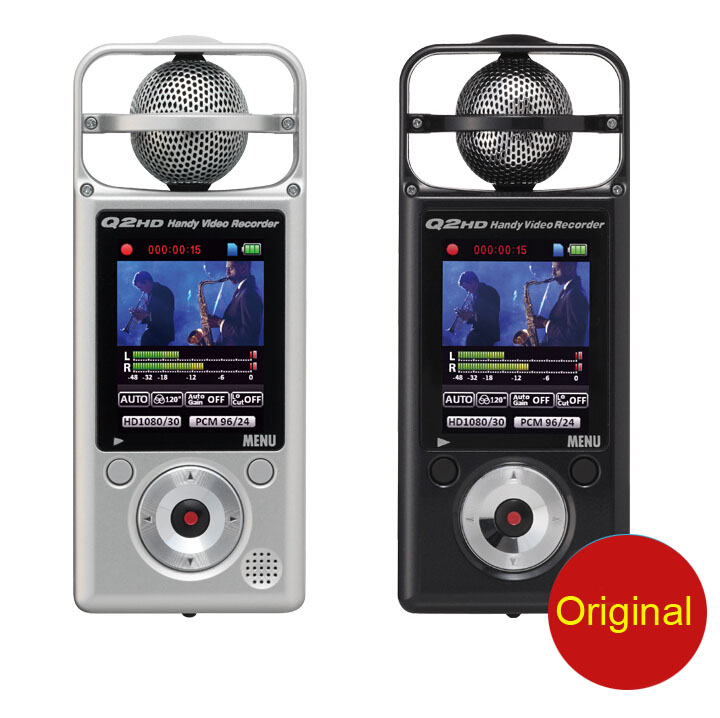 Unterhaltungselektronik Diplomatisch Zoom Q2hd 1080 P Hd Video Kamera Recorder Digital Voice Musik Treffen Mp3 Recorder Slr Micro Audio Sound Aufnahme Tragbares Audio & Video