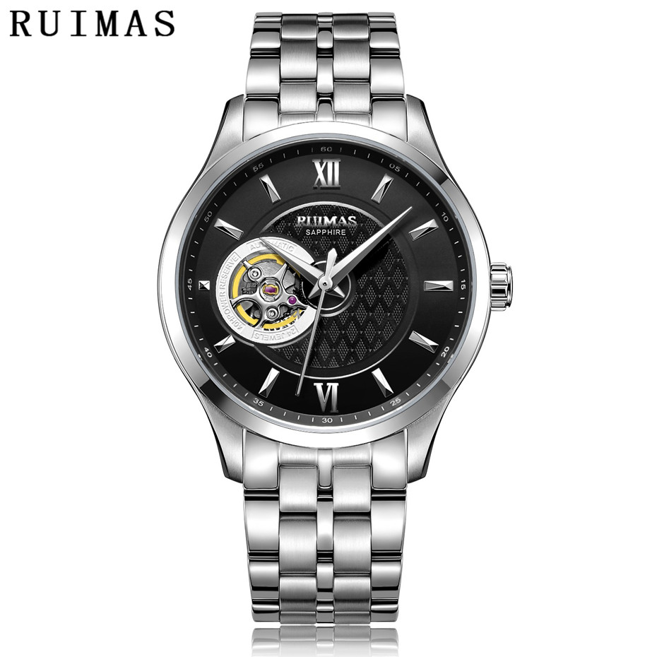 RUIMAS Mens Classic Luxury Mechanical Watch Male Business Casual High Quality Wristwatches with NH38 Brand Clock Montre HommeRUIMAS Mens Classic Luxury Mechanical Watch Male Business Casual High Quality Wristwatches with NH38 Brand Clock Montre Homme