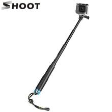 Bắn 20 52Cm Di Động Gậy Chụp Hình Selfie Stick Kéo Dài Monopod Cho Gopro Hero 9 7 8 5 Đen Xiaomi Yi 4K SJCAM SJ4000 SJ5000 Eken H9r Máy Ảnh