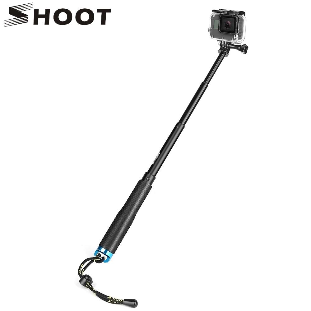 SHOOT 19 49cm Portable Selfie Stick Extend Monopod For