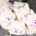 6 Tablets/set Cat Head Bed Around the Creative Baby Autumn and Winter Cotton Washable Embroidered Baby LD1124028