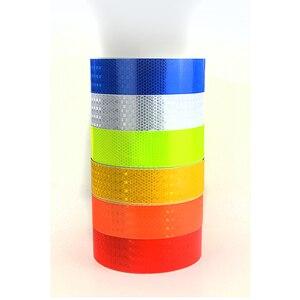 Оранжевый, синий, красный, желтый, зеленый, серебристый, отражающая лента в клетку, наклейка на автомобиль, мотоцикл, автомобиль, грузовик, дорогу, предупреждающая полоса, «сделай сам», наклейка|decal car sticker|decals stickers cardecal stickers motorcycle | АлиЭкспресс