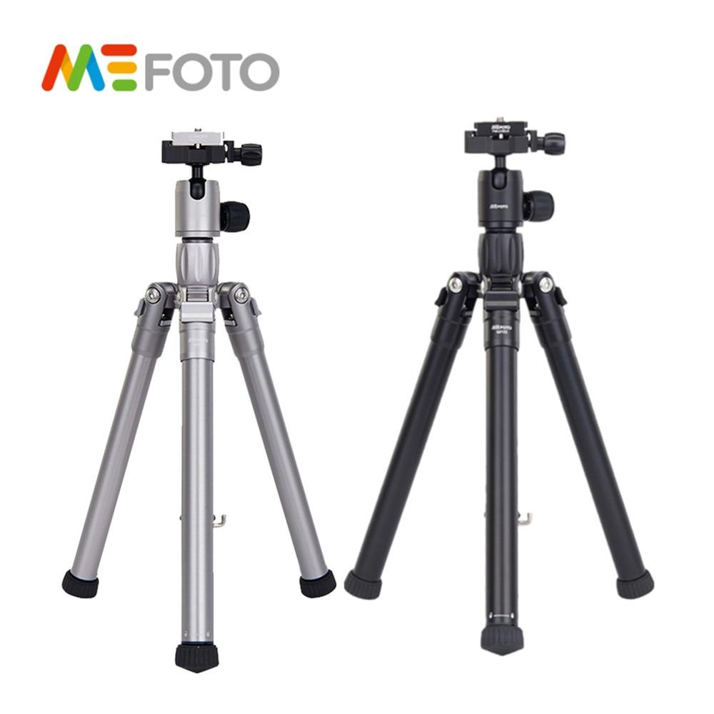 MEFOTO MF05 Professional Tripod SLR Camera 5 Sections Reflexed Monopod Portable Auminium Photographic Bracket Accessory цена 2017