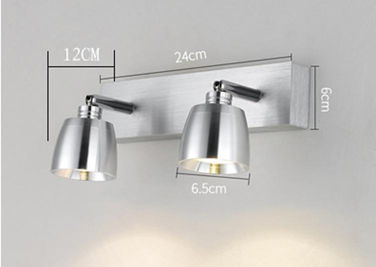 Светодиодный настенные светильники led современные пятно светильник для ванной свет зеркала настенные светильники светодиодные освещения лестницы домашнего освещения - 3