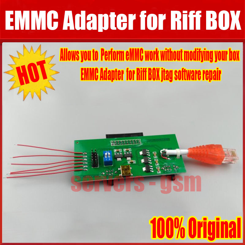 Industrious Newest Perform Emmc Work Without Modifying Your Box Emmc Adapter For Riff Box Jtag Software Repair Tools Free Shipping To Prevent And Cure Diseases
