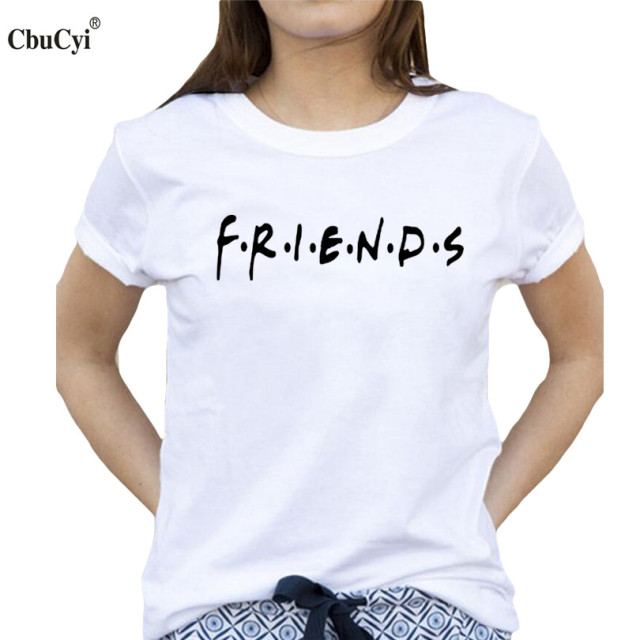 a87dfae93 Best Friends T-shirt Women's Summer Fashion Bff Tshirt Black White Cotton  Tops Tee 2018 Tumblr Hipster Tv Show tshirt