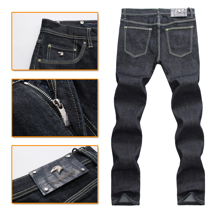Billionaire TACE&SHARK jeans men 2018 launching commerce fashion high quality Silk fitness male trouser free shipping
