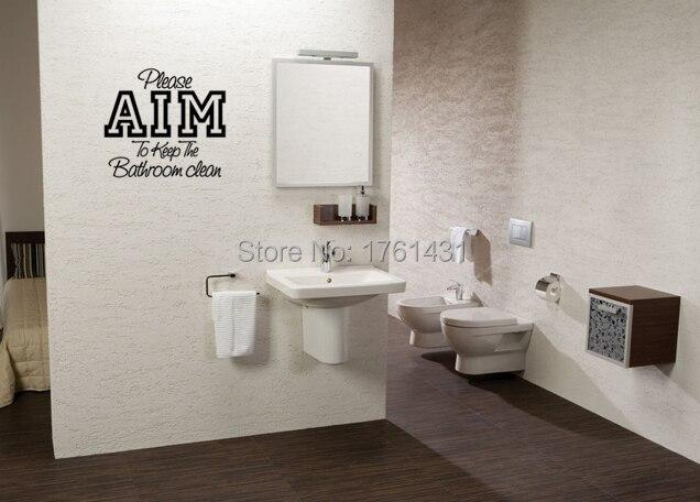 Gelieve aim muurstickers vinyl stickers home decor wc sticker
