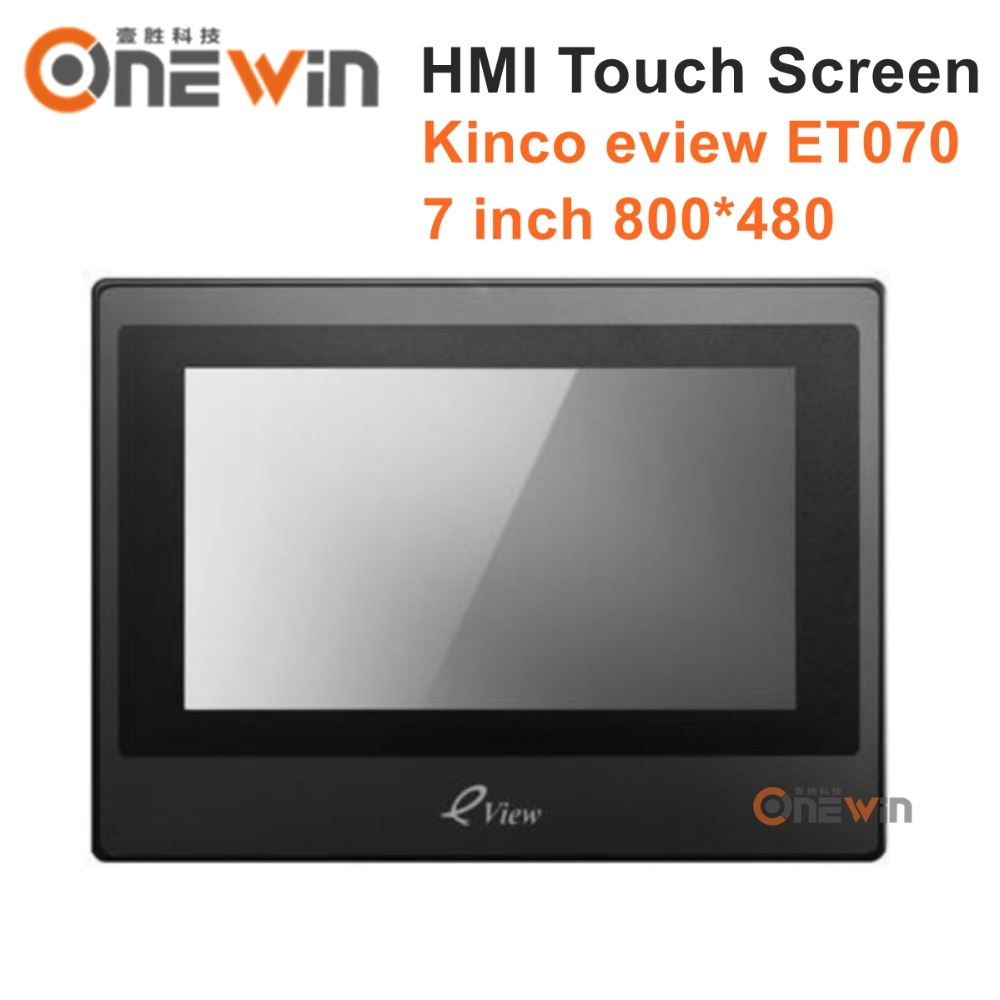 Kinco Eview ET070 HMI Touch Screen 7 800*480 Human Machine Interface pws6700t n hitech hmi touch screen human machine interface new in box