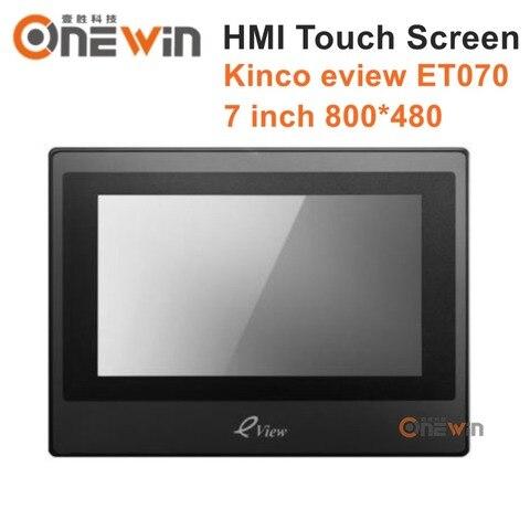 Tela de Toque Interface da Máquina Kinco Eview Polegada 800*480 Humana Et070 Hmi 7