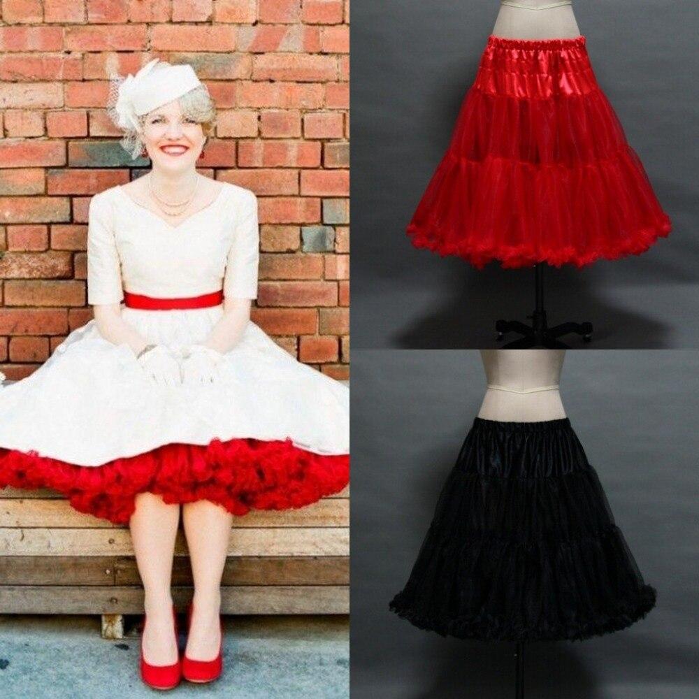 Online get cheap 1950s underskirt for Tulle skirt under wedding dress