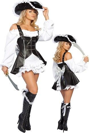 Offre spéciale costumes pour adultes, costume de pirate, costume de pom-pom girl