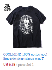 THE COOLMIND pure 100% cotton short sleeve fucus printed funny men Tshirt casual o-neck loose summer T shirt for men tops tees