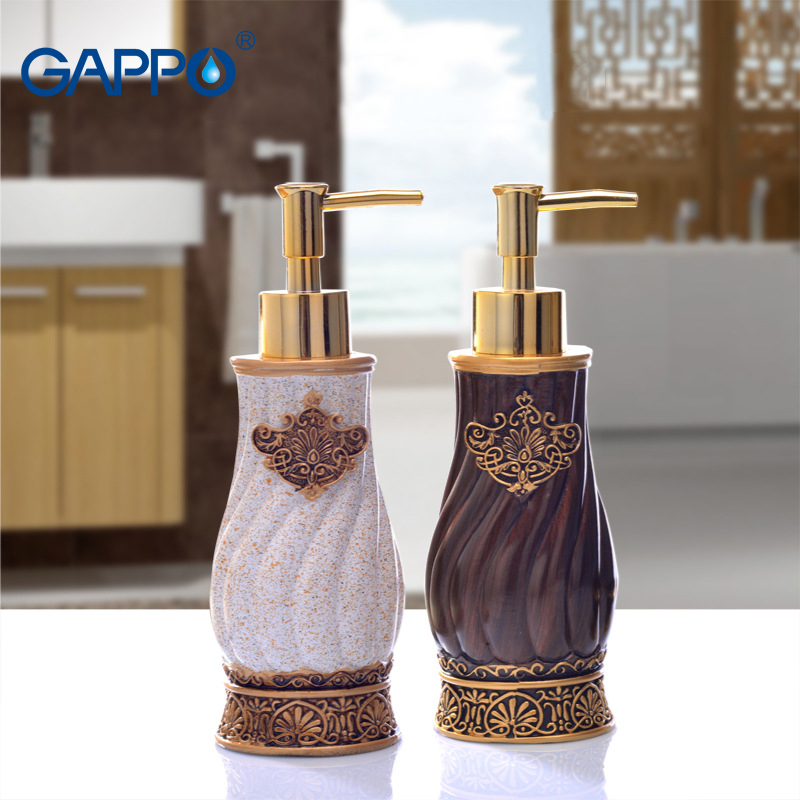 GAPPO Liquid Soap Dispensers Soaps Pump Imported Resin Bottle Bath Resin Bathroom Accessories Soap Pump Dispensers Hand WashGAPPO Liquid Soap Dispensers Soaps Pump Imported Resin Bottle Bath Resin Bathroom Accessories Soap Pump Dispensers Hand Wash