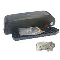 E-bike 48 v bateria caixa + níquel folhas de armazenamento caixa de lítio para baixo tubo bicicleta elétrica bateria 48 v caso com livre 18650 suporte
