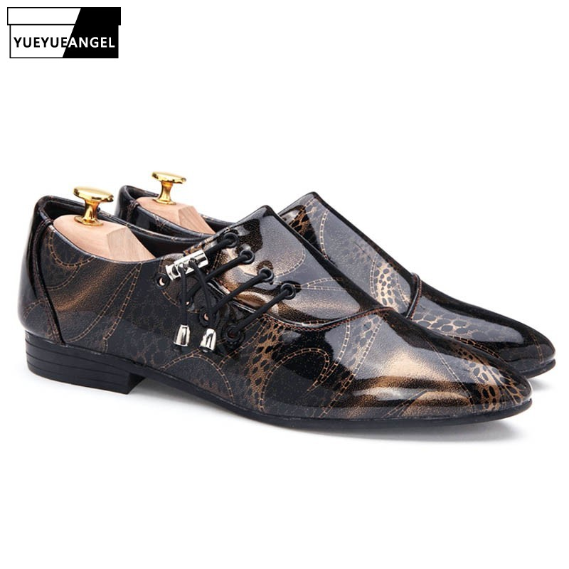 Original 2018 Italian Shoes Men Leather Purple Brown Colors High Heels Oxfords Snake Skin Pointed Toe Burgundy Dress Loafers Formal Shoes