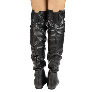 Image 5 - MORAZORA 2020 plus size 48 women over the knee boots pu round toe autumn winter boots simple casual shoes woman Chelsea boots