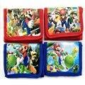 1 шт. мультяшный кошелек сумка супер брат фигурки героев нейлоновая молния дизайн детский подарок игрушка
