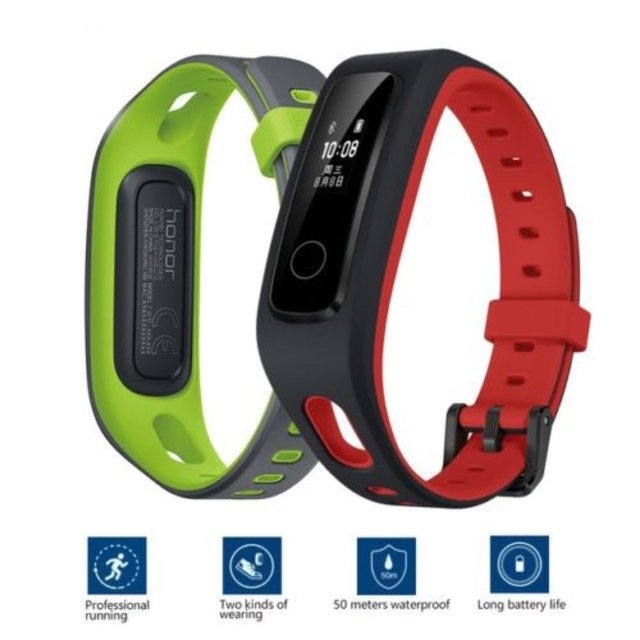 Huawei Honor Band A4 Smart Wristband HR Sleep Monitor Pedometer Fitness Tracker Soft Silicone