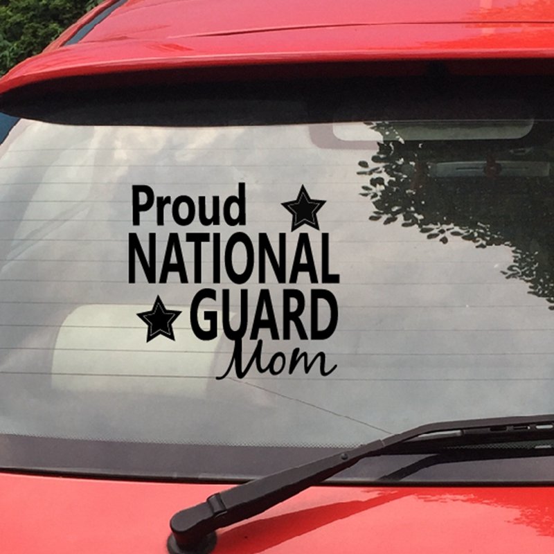 Landscape Details about  /Proud Mom Of A National Guard Sticker