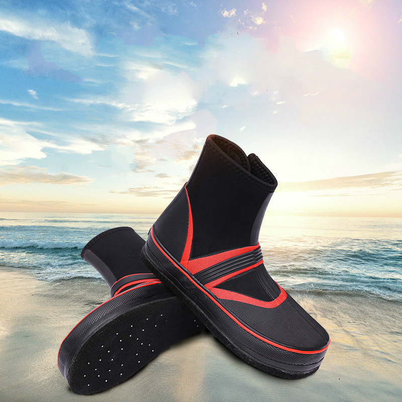 Outdoor Water Shoes for Men Non-slip Fishing Boots Felt Bottom Rain Boots High Quality Waterproof men shoesOutdoor Water Shoes for Men Non-slip Fishing Boots Felt Bottom Rain Boots High Quality Waterproof men shoes