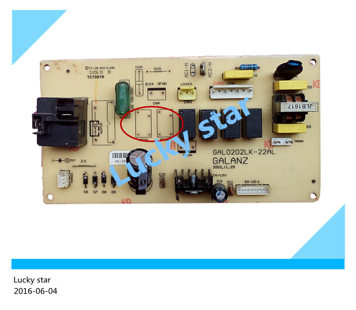 90% new used for Air conditioning computer board circuit board GAL0202LK-22AL good working 12v 250mm dc long distance wireless power supply module wireless transmission charging module module