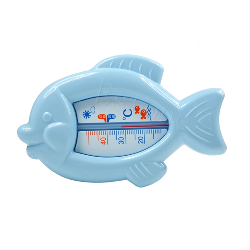 Baby Bath Tub Thermometer Safety Floating Fish Design Measure Water ...