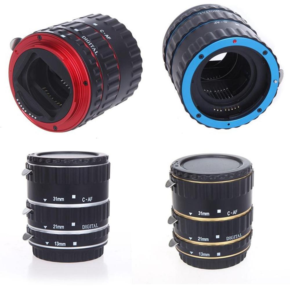 Fém rögzítés automatikus fókusz AF makró hosszabbító cső a - Kamera és fotó