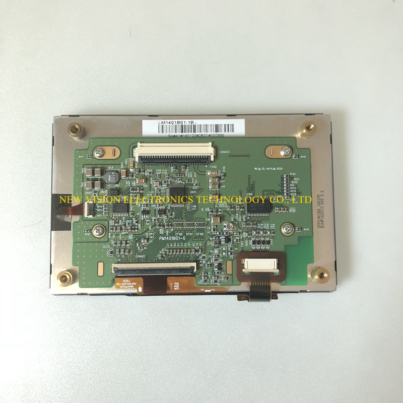 """LM1401B01 1B FM1401A04 1B New Original 5"""" inch LCD display with touch screen Assembly for Car GPS Navigation-in LCD Modules from Electronic Components & Supplies"""