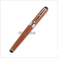 Noblest Crocodile 168 Hot Sale Blue And Silver Crocodile Skin Rollerball Ball Point Roller Ball Ballpoint