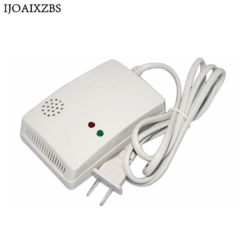 Natural Gas Leak Methane Alarm Detector Portable Detector Home Safety 70dB Warning High Sensitivity EU USA Plug Gas Sensor