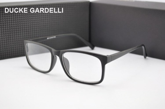 d04978d3fcd DUCKE GARDELLI Vintage Eyeglasses Male Eye Glasses optical Frame Eyewear  Myopia spectacle optical frame women glasses oculos 720
