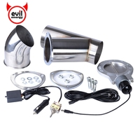 4 0 Inch Stainless Steel Y Pipe Exhaust Cutout Car Muffler Accessory Parts Exhaust Catback Downpipe