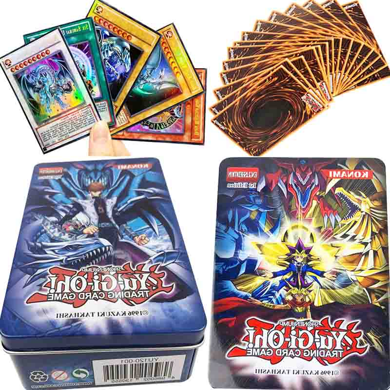 60pcs YuGiOh Rare Proxy Cards Exodia Magician Girl Egyptian God Obelisk Dragon Numbers English Classic TCG Duel Card Yu-Gi-Oh! image