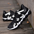 Homens respirável Sapatos Casuais Lace Up Mens Formadores Zapatillas Hombre Cesta Plana Sapatos de Caminhada Esporte Confortável Luz Macho Macio