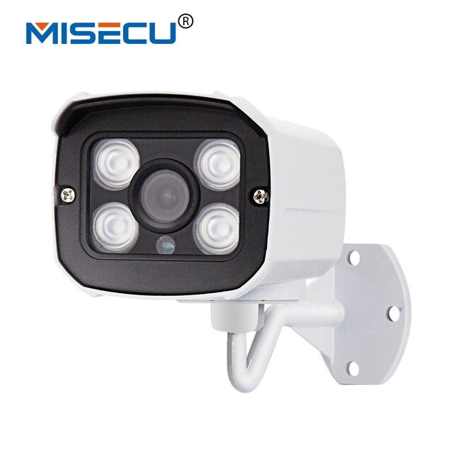MISECU 48 В POE Камеры 1920*1080 P 2.0MP ИК Ip-камера POE ONVIF Водонепроницаемый Из/в помещении Ночного видение P2P видеонаблюдения XMEye