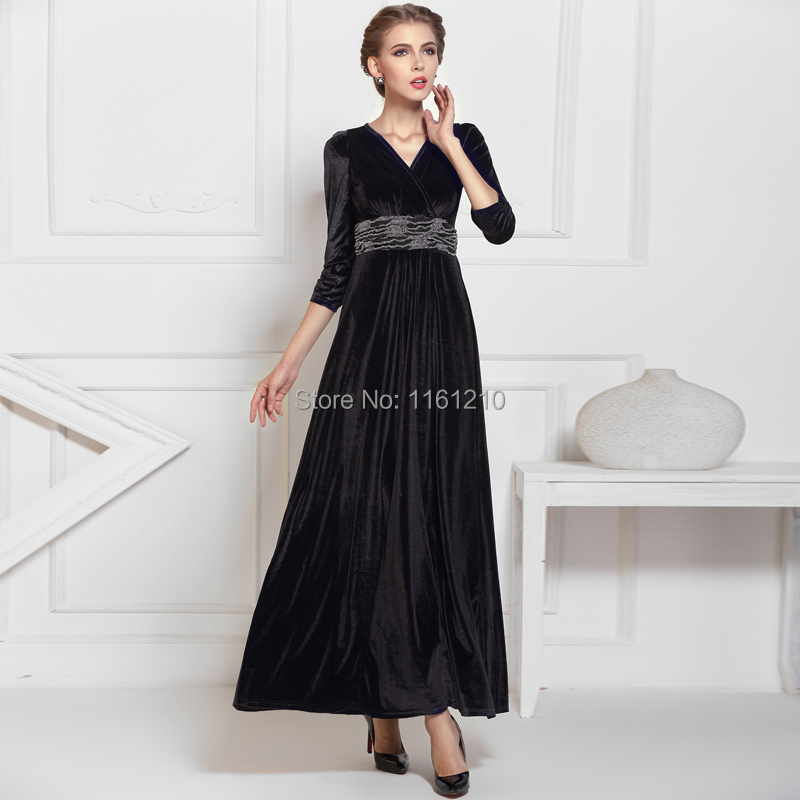 Black Christmas Party Dresses Promotion-Shop for Promotional Black ...