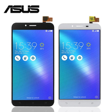 """5.5 """"Para Asus Zenfone 3 Max ZC553KL Pantalla LCD Pantalla Táctil de Cristal Digitalizador Asamblea Panel Del Sensor 3 M Cinta + herramientas"""