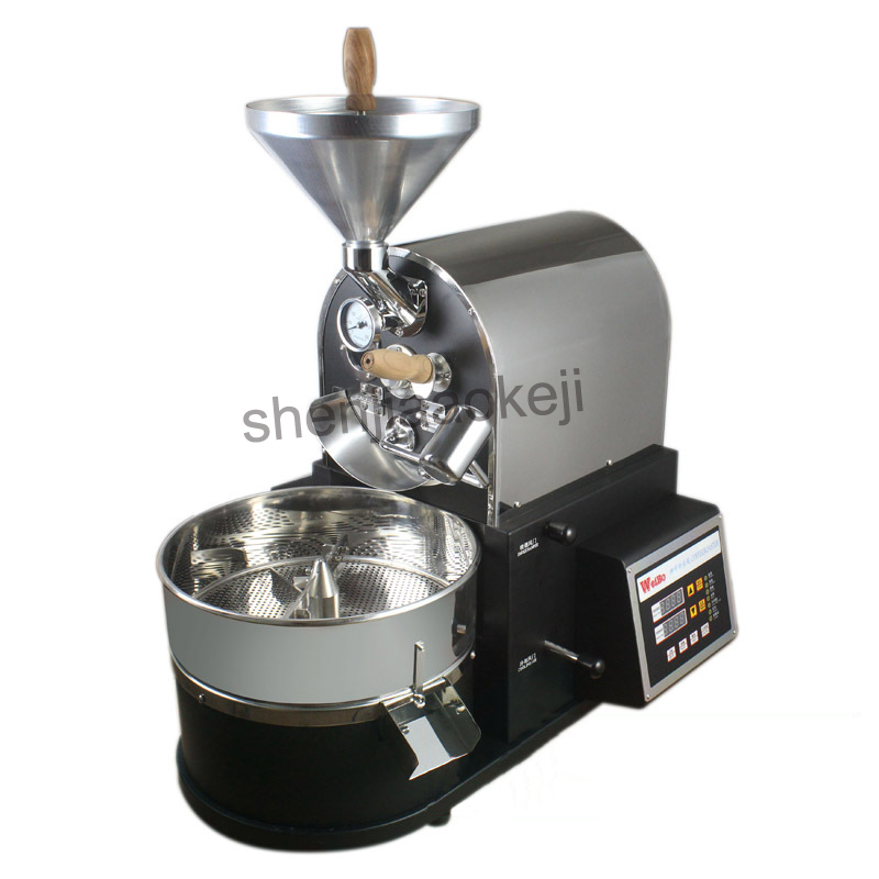 Commercial Coffee Roasting Machine Professional Coffee Roaster Machine 1000g Coffee bean Roasting Machine 220v 2100w 1pc 220v full automatic 300g 3d hot air coffee roasting machine coffee roaster coffee beans baking machine coffee maker 1pc