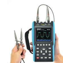 Alle-sonne Digital-oszilloskop 25-100 MHz 100M-1GSa/s 2CH + 6000 Zählt DMM Tragbarer Wellenform USB LCD Hintergrundbeleuchtung EM1230